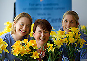 Repro Free: 22/08/2012 Niamh Kiernan (left) and Claire Hayden (right) Oncology Clinical Nurse Specialists are pictured with Cathriona Dempsey, Daffodil Centre Cancer information Service as the Irish Cancer Society officially launch its Daffodil Centre at Tallaght Hospital, Dublin. The Daffodil Centre, which is run by Irish Cancer Society specialist cancer nurses and trained volunteers, is an information service on-site in the hospital, where people affected by or concerned about cancer can receive information and support. Pic Andres Poveda