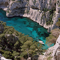 CALANQUES D'ENVAU - BOUCHES DU RHONE<br />