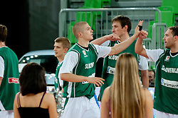 Edo Muric of Slovenia at friendly match between Slovenia and Bosnia and Hercegovina for Adecco Cup 2011 as part of exhibition games before European Championship Lithuania on August 9, 2011, in SRC Stozice, Ljubljana, Slovenia. (Photo by Matic Klansek Velej / Sportida)