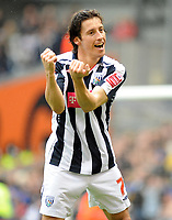 West Bromwich Abion v Leicester City 15/03/08<br /> Robert Koren  (West Brom)celebrates first goal<br /> Photo Roger Parker Fotosports International