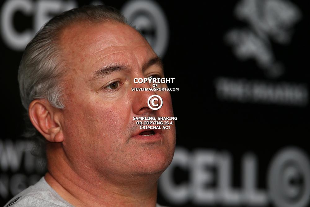 DURBAN, SOUTH AFRICA, 18,JULY, 2016 -Gary Gold (Sharks Director of Rugby) during The Cell C Sharks training session at Growthpoint Kings Park in Durban, South Africa. (Photo by Steve Haag)<br /> <br /> images for social media must have consent from Steve Haag