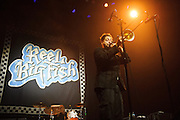 Ska band Reel Big Fish performing at the Pageant in St. Louis on January 15, 2013.