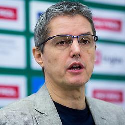 20180111: SLO, Basketball - Press conference of KK Petrol Olimpija