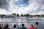 Henley on Thames, England, United Kingdom, 7th July 2019, Henley Royal Regatta, Finals Day, Henley Reach, [© Peter SPURRIER/Intersport Image]<br /> <br /> 15:07:24