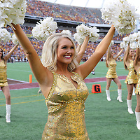 ORLANDO, FL - JANUARY 01:  The Missouri Golden Girls perform during the Buffalo Wild Wings Citrus Bowl between the Minnesota Golden Gophers and the Missouri Tigers at the Florida Citrus Bowl on January 1, 2015 in Orlando, Florida. (Photo by Alex Menendez/Getty Images) *** Local Caption ***