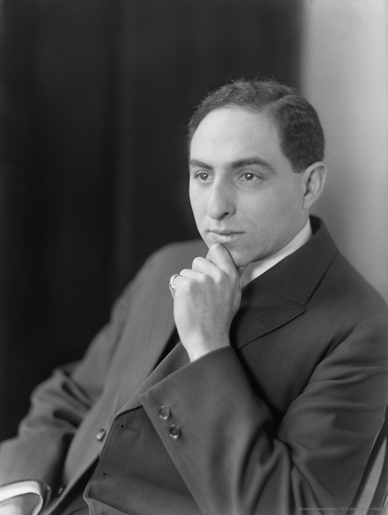 Louis HIrsch, composer of songs and musicals, 1913