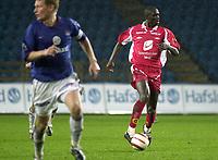 Seyi Olofinjana, Brann. Tippeligaen 2004: Vålerenga - Brann 1-0. 25. april 2004. (Foto: Peter Tubaas/Digitalsport)