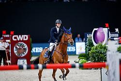 DEVOS Pieter (BEL), Espoir<br /> Paris - FEI World Cup Finals 2018<br /> Longines FEI World Cup Jumping Final IV<br /> www.sportfotos-lafrentz.de/Stefan Lafrentz<br /> 15. April 2018