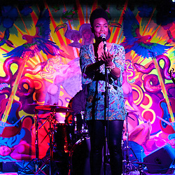 """Washington, DC  - Hip Hop Pantsula, Carolyn Malachi, Wayna, and The ELs join Asheru at Tropicalia for the """"Sleepless in Soweto"""" album release party."""