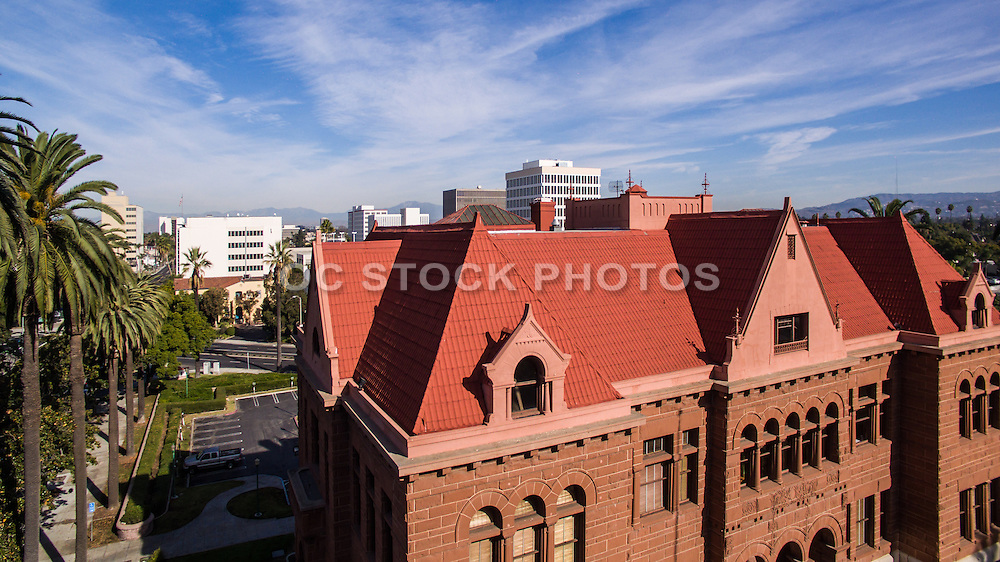 Old Orange County Courthouse of Santa Ana California