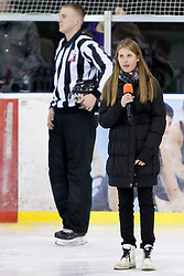 Janina Klenovsek during Humanitarian hockey derby of legends between Olimpija and Jesenice, on 7 March 2014, in Hala Tivoli, Ljubljana, Slovenia. Photo by Urban Urbanc / Sportida.com