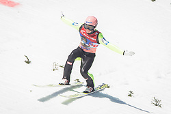 19.03.2016, Planica, Ratece, SLO, FIS Weltcup Ski Sprung, Planica, Finale, Skifliegen, Team, im Bild Stefan Kraft (AUT) // during the Ski Flying Team Competition of the FIS Ski jumping Worldcup Cup finals at Planica in Ratece, Slovenia on 2016/03/19. EXPA Pictures © 2016, PhotoCredit: EXPA/ Sportida/ Ziga Zupan<br /> <br /> *****ATTENTION - OUT of SLO, FRA*****