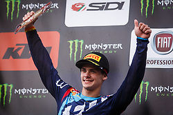 Tim Gajser #243 of Slovenia during MXGP Trentino race two, round 5 for MXGP Championship in Pietramurata, Italy on 16th of April, 2017 in Italy. Photo by Grega Valancic / Sportida
