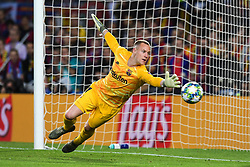 November 5, 2019, Barcelone, Espagne: FOOTBALL: FC Barcelona vs SK Slavia Praha Champions League.Marc  Andre Ter Stegen (Credit Image: © Panoramic via ZUMA Press)