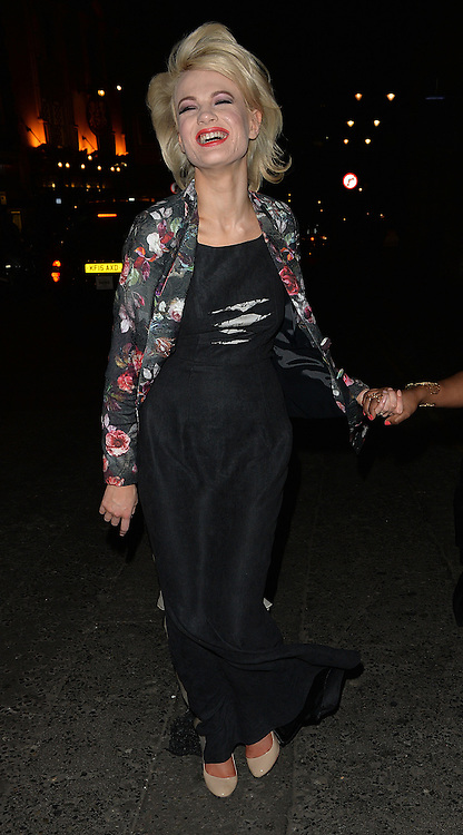 Chloe Jasmin has a girls night out at the Library Club, following split up with Stevie Richie. London, UK. 19/04/2016<br />BYLINE MUST READ : GOTCHAIMAGES.COM<br /><br />Copyright by &copy; Gotcha Images Ltd. All rights reserved.<br />Usage of this image is conditional upon the acceptance <br />of Gotcha Images Ltd, terms and conditions available at<br />www.gotchaimages.com