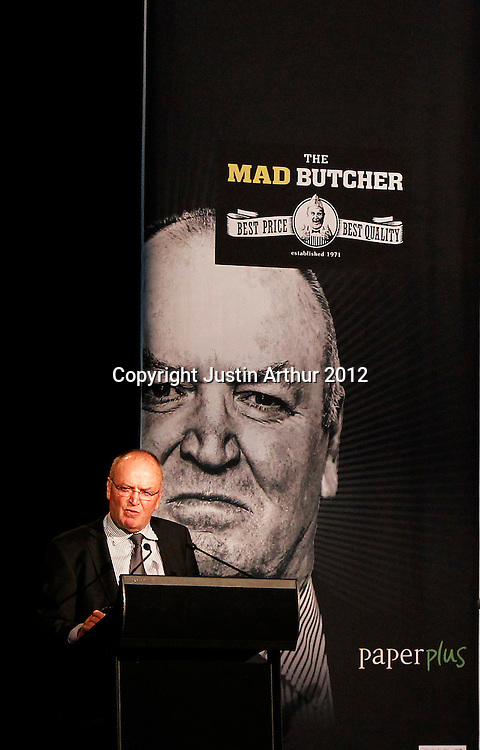 "Sir Graham Henry. The Mad Butcher Presents, ""Final Word: A Tribute to Sir Graham Henry"" at the Amora Hotel, Wellington, New Zealand on Tuesday 7 August 2012. Photo: Justin Arthur / photosport.co.nz"