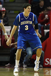 13 January 2012:  Doug McDermott during an NCAA Missouri Valley Conference mens basketball game where the Creighton Bluejays topped the Illinois State Redbirds 87-78 in Redbird Arena, Normal IL