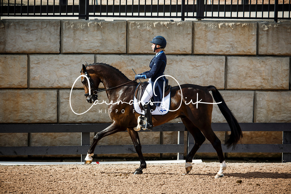 Swindells Pauliina, FIN, Ferro S<br /> World Equestrian Games - Tryon 2018<br /> © Hippo Foto - Sharon Vandeput<br /> 14/09/2018