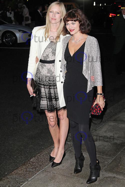 LONDON - SEPTEMBER 20: Jade Parfitt; Jasmine Guinness attended 'Fashion For The Brave' at The Dorchester Hotel, Park Lane, London, UK. September 20, 2012. (Photo by Richard Goldschmidt)