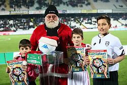 """Foto /Filippo Rubin<br /> 21/12/2017 Cesena (Italia)<br /> Sport Calcio<br /> Cesena - Palermo - Campionato di calcio Serie B ConTe.it 2017/2018 - Stadio """"Dino Manuzzi""""<br /> Nella foto: NATALE<br /> <br /> Photo /Filippo Rubin<br /> Dicember 21, 2017 Cesena (Italy)<br /> Sport Soccer<br /> Cesena vs Palermo - Italian Football Championship League B 2017/2018 - """"Dino Manuzzi"""" Stadium <br /> In the pic: CHRISTMAS"""