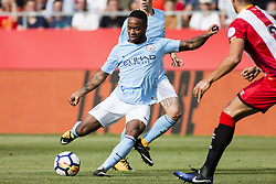 August 15, 2017 - Girona, Spain - 07 Raheem Sterling from England of Manchester City during the Costa Brava Trophy match between Girona FC and Manchester City at Estadi de Montilivi on August 15, 2017 in Girona, Spain. (Credit Image: © Xavier Bonilla/NurPhoto via ZUMA Press)