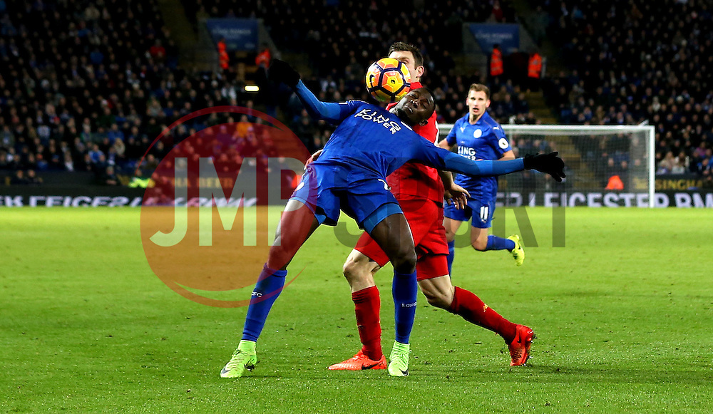Wilfred Ndidi of Leicester City controls the ball - Mandatory by-line: Robbie Stephenson/JMP - 27/02/2017 - FOOTBALL - King Power Stadium - Leicester, England - Leicester City v Liverpool - Premier League