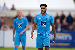 NUNEATON, ENGLAND - Saturday, July 29, 2017: Coventry City's Jordan Willis during a pre-season friendly between Liverpool and Coventry City at the Liberty Way Stadium. (Pic by Paul Greenwood/Propaganda)