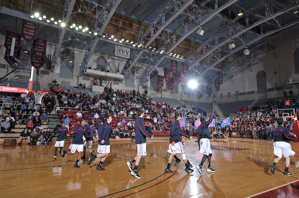 Penn Beat Princeton at the Pa;estra on JAn  30, 2012.