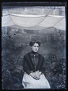 woman portrait France ca 1920s