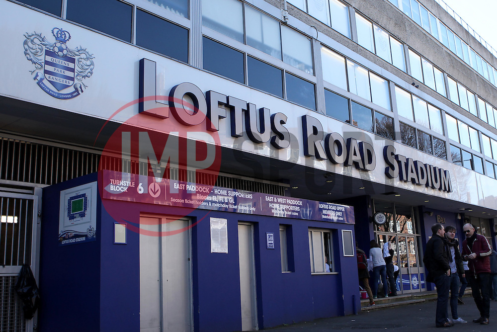 Lotus Road - Photo mandatory by-line: Robbie Stephenson/JMP - Mobile: 07966 386802 - 07/03/2015 - SPORT - Football - London - Loftus Road - Queens Park Rangers v Tottenham Hotspur - Barclays Premier League
