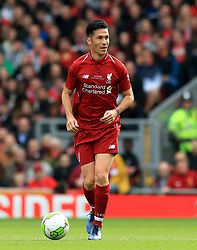 Liverpool's Luis Garcia during the Legends match at Anfield Stadium, Liverpool.