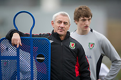 CARDIFF, WALES - Thursday, March 15, 2012: Ian Rush (Welsh Football Trust Elite Performance Director) during a training session at the Glamorgan Sports Park. (Pic by David Rawcliffe/Propaganda)
