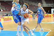 DESCRIZIONE : Riga Latvia Lettonia Eurobasket Women 2009 final 5th-6th Place Italia Grecia Italy Greece<br /> GIOCATORE : Simona Ballardini<br /> SQUADRA : Italia Italy<br /> EVENTO : Eurobasket Women 2009 Campionati Europei Donne 2009 <br /> GARA : Italia Grecia Italy Greece<br /> DATA : 20/06/2009 <br /> CATEGORIA : penetrazione<br /> SPORT : Pallacanestro <br /> AUTORE : Agenzia Ciamillo-Castoria/M.Marchi<br /> Galleria : Eurobasket Women 2009 <br /> Fotonotizia : Riga Latvia Lettonia Eurobasket Women 2009 final 5th-6th Place Italia Grecia Italy Greece<br /> Predefinita :