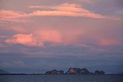 Thailand, Ko Kradan. Sunset.