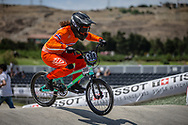 Women Elite #388 (BAAUW Judy) NED at the 2018 UCI BMX World Championships in Baku, Azerbaijan.