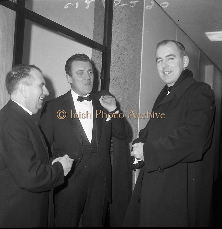 Opening Night of Telifís Eireann at Montrose.31.01.1962