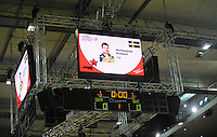 Handball EM Herren 2010 Vorrunde Deutschland - Schweden 22.01.2010 Feature;Anzeigentafel;