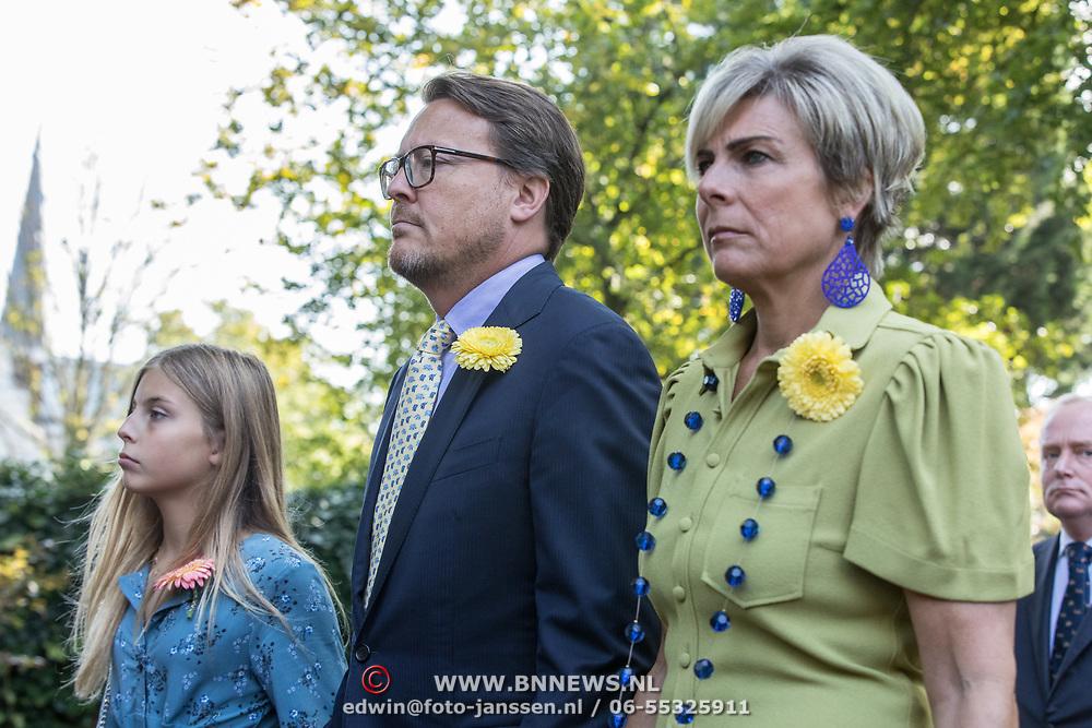 NLD/Den Haag/20190822 - Uitvaart Prinses Christina, Prins Constantijn en partner Prinses Laurentien