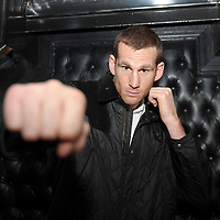 Boxing - David Price & Matt Skelton Head-to-Head Press Conference - Cafe Sport England, Liverpool - 24/10/12 David Price poses after the press conference Mandatory Credit: Action Images / Paul Currie Livepic
