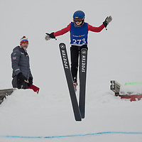 Raw Air photo from Vikersund Ski Flying Hill. Raw Air is a ten day ski jumping and ski flying tournament and is part of the World Cup competition. <br /> Raw Air 2018 was held in March 2018 in Norway at four different ski jumping hills - Oslo, Lillehammer, Trondheim and Vikersund. <br /> Vikersund Hill is a ski flying hill, in Modum, Norway is the largest in the world. Nine world records have been set on this hill, with the current one at 253.5 meters set by Stefan Kraft (Austria) on the 18th March 2017.