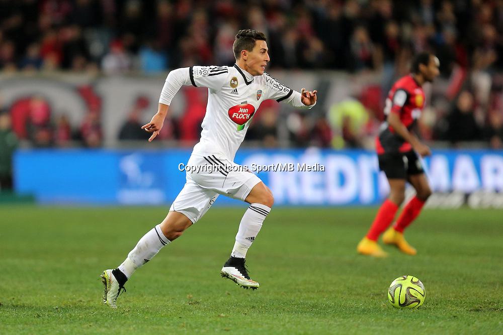 Gianni BRUNO  - 24.01.2015 - Guingamp / Lorient - 22eme journee de Ligue1<br />Photo : Vincent Michel / Icon Sport *** Local Caption ***