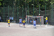 Rome, Italy amateur soccer game