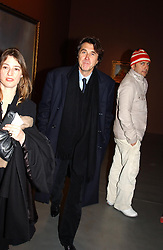 Singer BRYAN FERRY at an exhibition of paintings by artist George Condo entitled 'Religious Paintings' held at the Spruth Magers Lee Gallery, 12 Berkeley Street, London W1 on 12th October 2004.<br /><br />NON EXCLUSIVE - WORLD RIGHTS