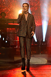 © Licensed to London News Pictures. 21/02/2016.  Jess Glynne gig at the Brixton O2. Part of a UK tour. London, UK. Photo credit: Ray Tang/LNP