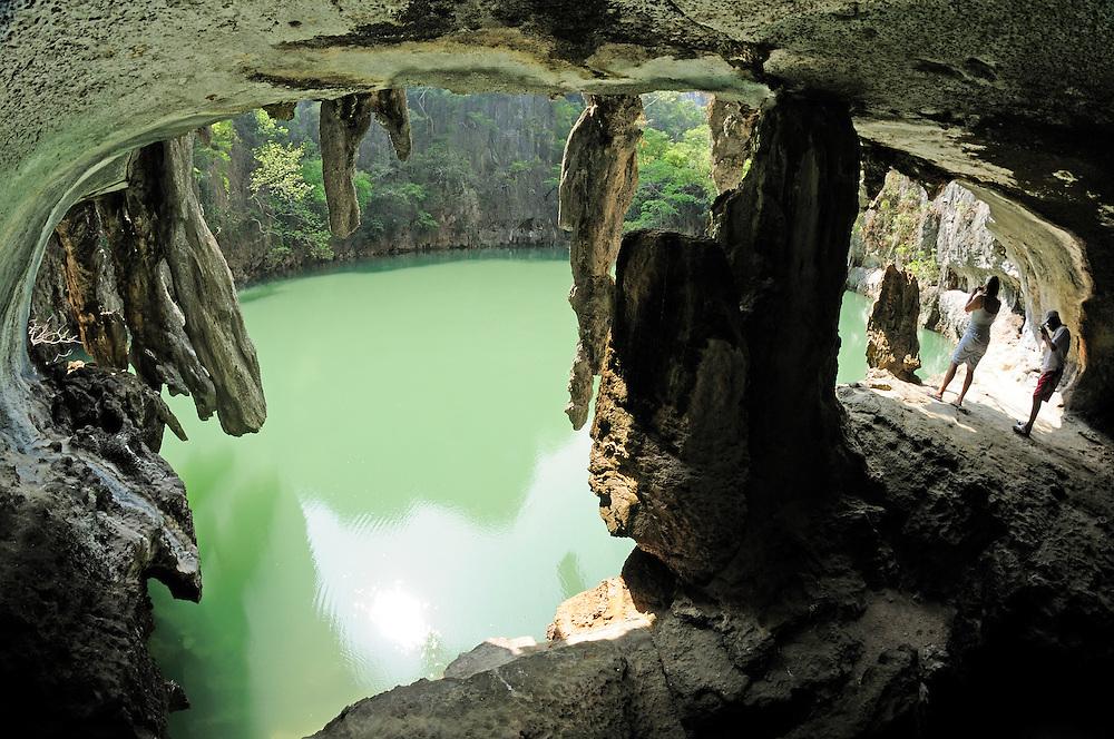 Kho Hong Cave, Phang Nga Bay Marine National Park, Phang Nga Eco Tours, Thailand