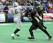 Green Bay Blizzard at Cedar Rapids Titans - Cedar Rapids, Iowa - June 8, 2013