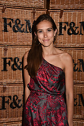 Natalie Salmon at the Fortnum & Mason Food and Drink Awards, Fortnum & Mason Food and Drink Awards, London, England. 10 May 2018.