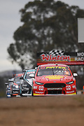 20th May 2018, Winton Motor Raceway, Victoria, Australia; Winton Supercars Supersprint Motor Racing; Scott McLaughlin drives the number 17 DJR Team Penske Ford Falcon FG X during race 14 of the 2018 Supercars Championship