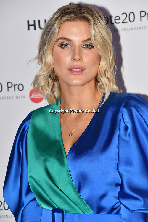 Ashley James attend Huawei - VIP celebration at One Marylebone London, UK. 16 October 2018.