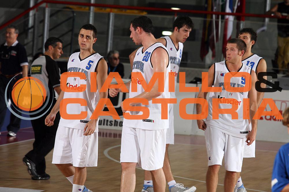 DESCRIZIONE : Osimo Torneo Internazionale Italia-Venezuela<br /> GIOCATORE : Mafresca Crosariol Brkic Fultz Boscagin<br /> SQUADRA : Italia<br /> EVENTO : Osimo Torneo Internazionale<br /> GARA : Italia Venezuela<br /> DATA : 26/06/2006 <br /> CATEGORIA : <br /> SPORT : Pallacanestro <br /> AUTORE : Agenzia Ciamillo-Castoria/G.Ciamillo